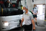 28 August 2021; Kerry manager Peter Keane arrives before the GAA Football All-Ireland Senior Championship semi-final match between Kerry and Tyrone at Croke Park in Dublin. Photo by Stephen McCarthy/Sportsfile