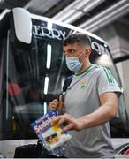 28 August 2021; David Clifford of Kerry arrives before the the GAA Football All-Ireland Senior Championship semi-final match between Kerry and Tyrone at Croke Park in Dublin. Photo by Stephen McCarthy/Sportsfile