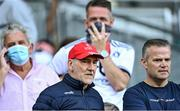 28 August 2021; Former Tyrone manager Mickey Harte in attendance at the GAA Football All-Ireland Senior Championship semi-final match between Kerry and Tyrone at Croke Park in Dublin. Photo by Piaras Ó Mídheach/Sportsfile
