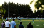 28 August 2021; A general view of action during the extra.ie FAI Cup Second Round match between Maynooth University Town and Cobh Ramblers at John Hyland Park in Baldonnell, Dublin. Photo by Eóin Noonan/Sportsfile