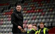 29 August 2021; Shamrock Rovers manager Stephen Bradley before the extra.ie FAI Cup second round match between Bohemians and Shamrock Rovers at Dalymount Park in Dublin. Photo by Stephen McCarthy/Sportsfile