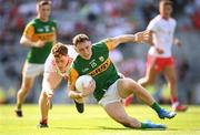 28 August 2021; Paudie Clifford of Kerry in action against Conor Meyler of Tyrone during the GAA Football All-Ireland Senior Championship semi-final match between Kerry and Tyrone at Croke Park in Dublin. Photo by Stephen McCarthy/Sportsfile