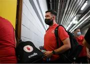 28 August 2021; Tyrone selector Joe McMahon arrives before the GAA Football All-Ireland Senior Championship semi-final match between Kerry and Tyrone at Croke Park in Dublin. Photo by Stephen McCarthy/Sportsfile