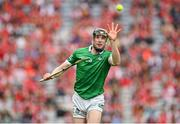 22 August 2021; Declan Hannon of Limerick during the GAA Hurling All-Ireland Senior Championship Final match between Cork and Limerick in Croke Park, Dublin. Photo by Eóin Noonan/Sportsfile