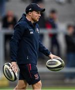 3 September 2021; Ulster strength and conditioning coach Mikey Kiely before the Pre-Season Friendly match between Ulster and Saracens at Kingspan Stadium in Belfast. Photo by Brendan Moran/Sportsfile