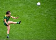 5 September 2021; Emma Duggan of Meath during the TG4 All-Ireland Ladies Senior Football Championship Final match between Dublin and Meath at Croke Park in Dublin. Photo by Stephen McCarthy/Sportsfile