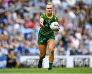 5 September 2021; Vikki Wall of Meath during the TG4 All-Ireland Ladies Senior Football Championship Final match between Dublin and Meath at Croke Park in Dublin. Photo by Piaras Ó Mídheach/Sportsfile
