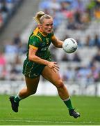 5 September 2021; Vikki Wall of Meath during the TG4 All-Ireland Ladies Senior Football Championship Final match between Dublin and Meath at Croke Park in Dublin. Photo by Eóin Noonan/Sportsfile