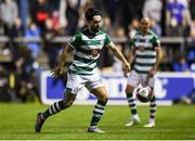 3 September 2021; Richie Towell of Shamrock Rovers during the SSE Airtricity League Premier Division match between Finn Harps and Shamrock Rovers at Finn Park in Ballybofey, Donegal. Photo by Ben McShane/Sportsfile