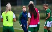 8 September 2021; Assistant coach Eileen Gleeson during a Republic of Ireland home-based training session at FAI Headquarters in Abbotstown, Dublin. Photo by Piaras Ó Mídheach/Sportsfile