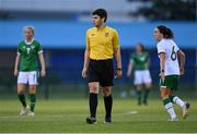 8 September 2021; Referee Samir Brihi during a Republic of Ireland home-based training session at FAI Headquarters in Abbotstown, Dublin. Photo by Piaras Ó Mídheach/Sportsfile
