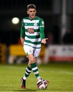 10 September 2021; Dylan Watts of Shamrock Rovers during the SSE Airtricity League Premier Division match between Shamrock Rovers and Waterford at Tallaght Stadium in Dublin. Photo by Stephen McCarthy/Sportsfile