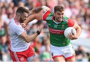 11 September 2021; Aidan O'Shea of Mayo in action against Ronan McNamee of Tyrone during the GAA Football All-Ireland Senior Championship Final match between Mayo and Tyrone at Croke Park in Dublin. Photo by Ramsey Cardy/Sportsfile