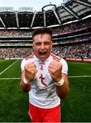 11 September 2021; Michael McKernan of Tyrone celebrates after the GAA Football All-Ireland Senior Championship Final match between Mayo and Tyrone at Croke Park in Dublin. Photo by David Fitzgerald/Sportsfile