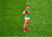 11 September 2021; A dejected Aidan O'Shea of Mayo after the GAA Football All-Ireland Senior Championship Final match between Mayo and Tyrone at Croke Park in Dublin. Photo by Daire Brennan/Sportsfile