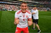 11 September 2021; Conn Kilpatrick of Tyrone celebrates after the GAA Football All-Ireland Senior Championship Final match between Mayo and Tyrone at Croke Park in Dublin. Photo by Stephen McCarthy/Sportsfile