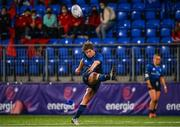 11 September 2021; Jenny Murphy of Leinster misses a penalty during the Vodafone Women's Interprovincial Championship Round 3 match between Leinster and Munster at Energia Park in Dublin. Photo by Harry Murphy/Sportsfile