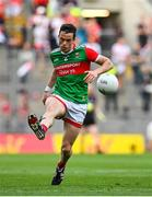 11 September 2021; Stephen Coen of Mayo during the GAA Football All-Ireland Senior Championship Final match between Mayo and Tyrone at Croke Park in Dublin. Photo by Seb Daly/Sportsfile