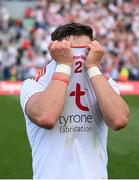 11 September 2021; Michael McKernan of Tyrone following the GAA Football All-Ireland Senior Championship Final match between Mayo and Tyrone at Croke Park in Dublin. Photo by Stephen McCarthy/Sportsfile