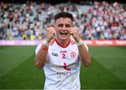 11 September 2021; Michael McKernan of Tyrone celebrates following the GAA Football All-Ireland Senior Championship Final match between Mayo and Tyrone at Croke Park in Dublin. Photo by Stephen McCarthy/Sportsfile