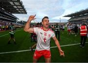 11 September 2021; Darren McCurry of Tyrone celebrates following the GAA Football All-Ireland Senior Championship Final match between Mayo and Tyrone at Croke Park in Dublin. Photo by Stephen McCarthy/Sportsfile