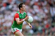 11 September 2021; Stephen Coen of Mayo during the GAA Football All-Ireland Senior Championship Final match between Mayo and Tyrone at Croke Park in Dublin. Photo by Stephen McCarthy/Sportsfile