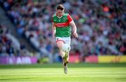 11 September 2021; Matthew Ruane of Mayo during the GAA Football All-Ireland Senior Championship Final match between Mayo and Tyrone at Croke Park in Dublin. Photo by Stephen McCarthy/Sportsfile