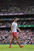 11 September 2021; Conor McKenna of Tyrone during the GAA Football All-Ireland Senior Championship Final match between Mayo and Tyrone at Croke Park in Dublin. Photo by Stephen McCarthy/Sportsfile