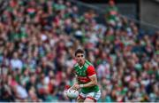 11 September 2021; Lee Keegan of Mayo during the GAA Football All-Ireland Senior Championship Final match between Mayo and Tyrone at Croke Park in Dublin. Photo by David Fitzgerald/Sportsfile