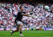 11 September 2021; Tyrone goalkeeper Niall Morgan during the GAA Football All-Ireland Senior Championship Final match between Mayo and Tyrone at Croke Park in Dublin. Photo by David Fitzgerald/Sportsfile