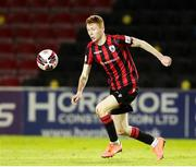 11 September 2021; Darragh Nugent of Longford Town during the SSE Airtricity League Premier Division match between Longford Town and Dundalk at Bishopsgate in Longford. Photo by Michael P Ryan/Sportsfile