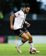 11 September 2021; Sami Ben Amar of Dundalk during the SSE Airtricity League Premier Division match between Longford Town and Dundalk at Bishopsgate in Longford. Photo by Michael P Ryan/Sportsfile