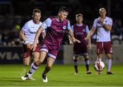 10 September 2021; Joe Redmond of Drogheda United in action against Andy Lyons of Bohemians during the SSE Airtricity League Premier Division match between Drogheda United and Bohemians at United Park in Drogheda, Louth. Photo by Matt Browne/Sportsfile