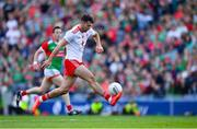 11 September 2021; Conor McKenna of Tyrone during the GAA Football All-Ireland Senior Championship Final match between Mayo and Tyrone at Croke Park in Dublin. Photo by Ray McManus/Sportsfile