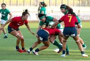 13 September 2021; Lindsay Peat of Ireland in action during the Rugby World Cup 2022 Europe Qualifying Tournament match between Spain and Ireland at Stadio Sergio Lanfranchi in Parma, Italy. Photo by Roberto Bregani/Sportsfile