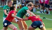 13 September 2021; Beibhinn Parsons of Ireland in action during the Rugby World Cup 2022 Europe Qualifying Tournament match between Spain and Ireland at Stadio Sergio Lanfranchi in Parma, Italy. Photo by Roberto Bregani/Sportsfile