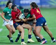 13 September 2021; Amee-Leigh Murphy Crowe of Ireland in action during the Rugby World Cup 2022 Europe Qualifying Tournament match between Spain and Ireland at Stadio Sergio Lanfranchi in Parma, Italy. Photo by Roberto Bregani/Sportsfile