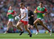 11 September 2021; Peter Harte of Tyrone in action against Tommy Conroy of Mayo during the GAA Football All-Ireland Senior Championship Final match between Mayo and Tyrone at Croke Park in Dublin. Photo by Piaras Ó Mídheach/Sportsfile