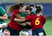 13 September 2021; Enya Breen of Ireland in action during the Rugby World Cup 2022 Europe Qualifying Tournament match between Spain and Ireland at Stadio Sergio Lanfranchi in Parma, Italy. Photo by Roberto Bregani/Sportsfile