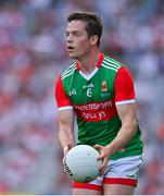 11 September 2021; Stephen Coen of Mayo during the GAA Football All-Ireland Senior Championship Final match between Mayo and Tyrone at Croke Park in Dublin. Photo by Brendan Moran/Sportsfile