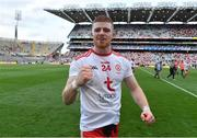 11 September 2021; Cathal McShane of Tyrone celebrates after the GAA Football All-Ireland Senior Championship Final match between Mayo and Tyrone at Croke Park in Dublin. Photo by Brendan Moran/Sportsfile