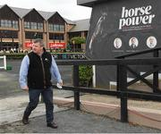 14 September 2021; Trainer Gordon Elliott after the Donate To The Coast To The Curragh Cycle In Honour Of Pat Smullen Handicap at Punchestown Racecourse in Kildare. Photo by Matt Browne/Sportsfile
