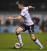 14 September 2021; Michael Duffy of Dundalk during the SSE Airtricity League Premier Division match between Sligo Rovers and Dundalk at The Showgrounds in Sligo. Photo by Seb Daly/Sportsfile