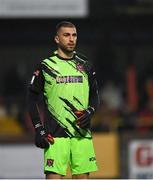 14 September 2021; Dundalk goalkeeper Alessio Abibi during the SSE Airtricity League Premier Division match between Sligo Rovers and Dundalk at The Showgrounds in Sligo. Photo by Seb Daly/Sportsfile