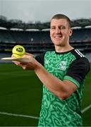 15 September 2021; Today saw the launch of the 2021 M. Donnelly GAA All-Ireland Poc Fada Finals by Uachtarán Chumann Lúthchleas Gael, Larry McCarthy, and Uachtarán an Cumann Camógaíochta Hilda Breslin. The All-Ireland Poc Fada finals in Hurling and Camogie will be held on the Cooley Mountains on Saturday 25th September. Pictured at the launch in Croke Park, Dublin, is Kilkenny hurler Eoin Murphy. Photo by Seb Daly/Sportsfile