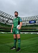 15 September 2021; Paul Boyle of Connacht poses for a portrait during the United Rugby Championship launch at the Aviva Stadium in Dublin. Photo by Brendan Moran/Sportsfile
