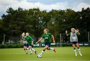 15 September 2021; Katie McCabe during a Republic of Ireland training session at the FAI National Training Centre in Abbotstown, Dublin. Photo by Stephen McCarthy/Sportsfile