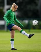 15 September 2021; Claire Walsh during a Republic of Ireland training session at the FAI National Training Centre in Abbotstown, Dublin. Photo by Stephen McCarthy/Sportsfile