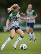 15 September 2021; Denise O'Sullivan during a Republic of Ireland training session at the FAI National Training Centre in Abbotstown, Dublin. Photo by Stephen McCarthy/Sportsfile
