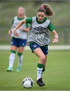 15 September 2021; Leanne Kiernan during a Republic of Ireland training session at the FAI National Training Centre in Abbotstown, Dublin. Photo by Stephen McCarthy/Sportsfile